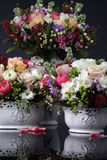 Bouquets of roses Royalty Free Stock Photos