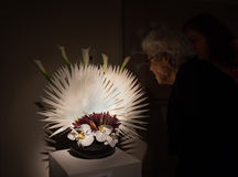 Bouquets to Art 2014 exhibition in San Francisco Stock Photo