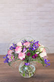 Bouquets of varios flowers Royalty Free Stock Photography