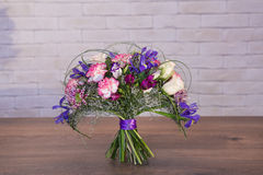 Bouquets of varios flowers Stock Image