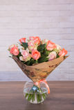 Bouquets of varios flowers Royalty Free Stock Images