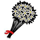 Bouquette των άσπρων λουλουδιών Στοκ φωτογραφία με δικαίωμα ελεύθερης χρήσης