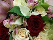 Bouquette von Blumen Stockfotografie