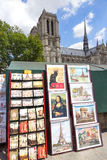 Bouquiniste stand  Paris Royalty Free Stock Image