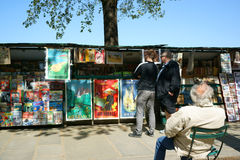Bouquinistes, Paris Stock Photography