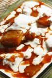 Bouranee Kadu - блюдо тыквы от Афганистана Стоковая Фотография RF