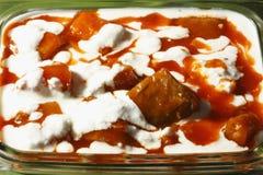 Bouranee Kadu - блюдо тыквы от Индии Стоковое Изображение