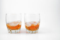 Bourbon. Kentucky bourbon in a glass Stock Images