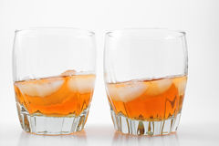 Bourbon. Kentucky bourbon in a glass Royalty Free Stock Image