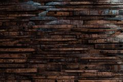 Bourbon Barrel Staves on Wall Texture stock photos