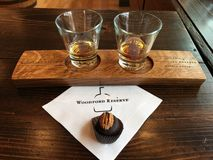 Bourbon & bola do bourbon fotos de stock royalty free