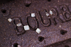 Bourbon chocolate biscuits Stock Image