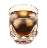 Bourbon and Cola Royalty Free Stock Images