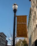 Bourbon District in Louisville stock images