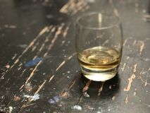 Bourbon en Hout royalty-vrije stock foto's