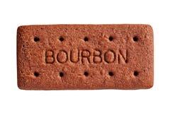Bourbon-Keks, schnitt heraus lizenzfreie stockbilder