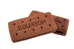 Bourbon-Kekse Lizenzfreie Stockfotos