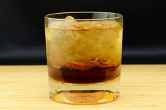 Bourbon Rocks Stock Photo
