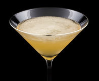 Bourbon Sidecar Cocktail Royalty Free Stock Image