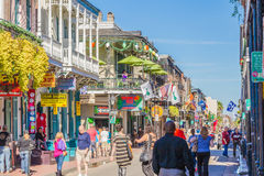 Bourbon Street Royalty Free Stock Images