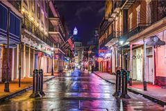 Free Bourbon Street In Downtown New Orleans, Louisiana, USA Royalty Free Stock Photo - 128515035
