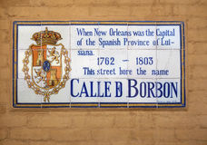 Bourbon Street New Orleans Royalty Free Stock Image