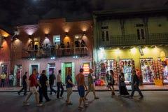Bourbon Street, New Orleans Stock Photo