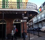 Bourbon Street New Orleans Louisiana Stock Image