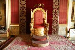 Bourbon throne Stock Images