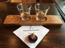 Bourbon u. Bourbonball Lizenzfreie Stockfotos