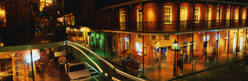 Bourbon Ulica obraz royalty free