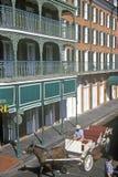 Bourbon ulica, Nowy Orlean, Luizjana obrazy stock