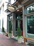 Bourbon Whiskey Bar, Columbia, South Carolina. Bourbon Whiskey Bar located on Main Street in Columbia, South Carolina stock photo