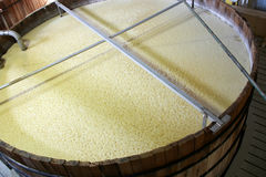 Bourbon or whiskey fermenting tank Royalty Free Stock Photos