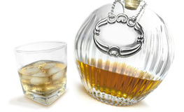 Bourbon Whisky Canter Royalty Free Stock Images