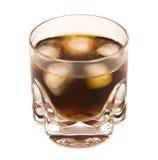 Bourbon y cola Imágenes de archivo libres de regalías