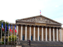 bourbona assemblee nationale palais Fotografia Royalty Free