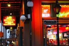 Bourbonstraat stock foto's