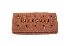 Bourbonu ciastko Obrazy Stock