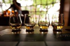 Bourbonu lot z selekcyjną ostrością obrazy stock