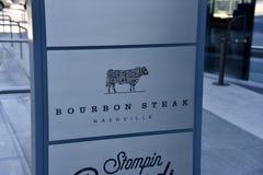 Bourbonu stek, Nashville, Tennessee zdjęcia royalty free