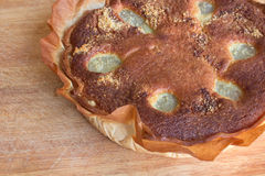 Bourdaloue-Torte Stockfoto