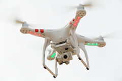 Bourdon amateur d'UAV de vol Photo stock