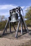 Bourdon bell at the waaldorpervlakte Royalty Free Stock Photo