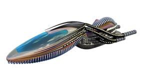 bourdon 3D futuriste Image libre de droits