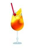 Bourdon d'orange de cocktail illustration libre de droits