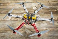 Bourdon de hexacopter de la roue F550 de flamme Photographie stock libre de droits