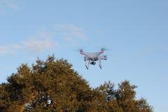 Bourdon de Quadcopter Photographie stock libre de droits