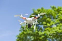 Bourdon de vol avec l'appareil-photo images stock