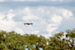 Bourdon de vol avec le ciel bleu images libres de droits